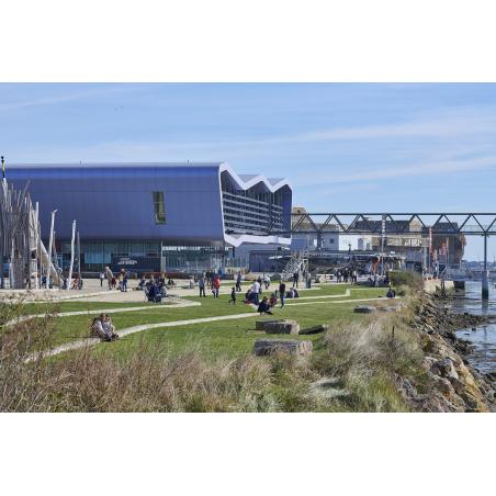 ©y.zedda - LBST - La cité de la Voile Eric Tabarly, conçue par l'architecte Jacques Ferrier
