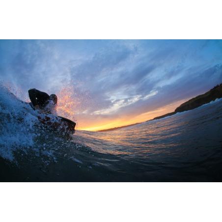 ©T. DEREGNIEAUX-LBST - Bodyboard sur la plage du Loc'h