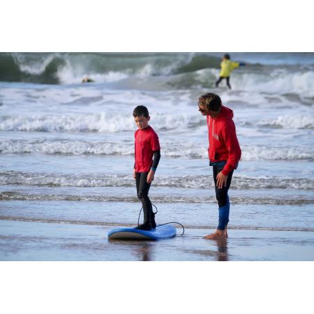 ©T. DEREGNIEAUX-LBST - Cours de surf sur la plage du Fort-Bloqué