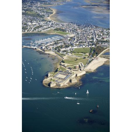 ©Audelor - Vue aérienne de Port-Louis et la Citadelle