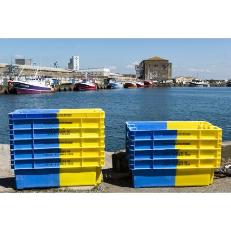 ©Xavier Dubois-LBST - Caisses de criée au port de Keroman