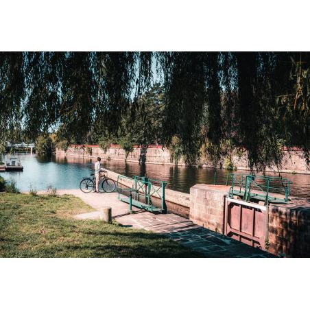 ©Lezbroz-LBST - Le chemin de halage du Blavet et les écluses