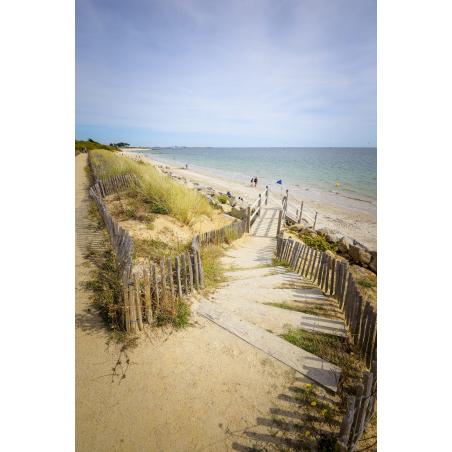 ©Emmanuel LEMEE-LBST - La plage de Kerguelen à Larmor-Plage