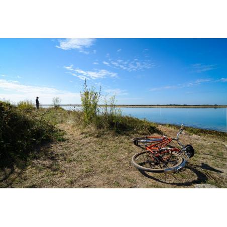 ©Emmanuel LEMEE-LBST - Balade à vélo sur la petite mer de Gâvres