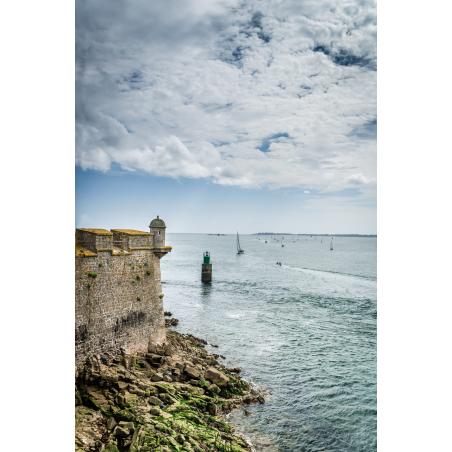©Xavier DUBOIS-LBST - La Citadelle de Port-Louis et vue au large de la Rade de Lorient