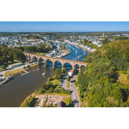 ©Thibault Poriel-LBST - Vue aérienne d'Hennebont