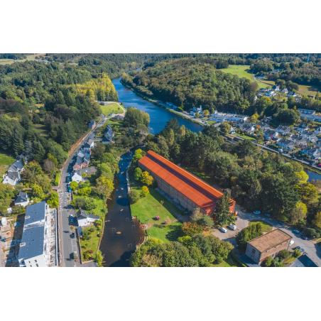 ©Thibault PORIEL-LBST - Vue aérienne du Parc d'eaux vives d'Inzinzac-Lochrist
