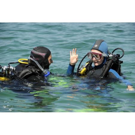 ©Sellor - Baptême de plongée avec un moniteur