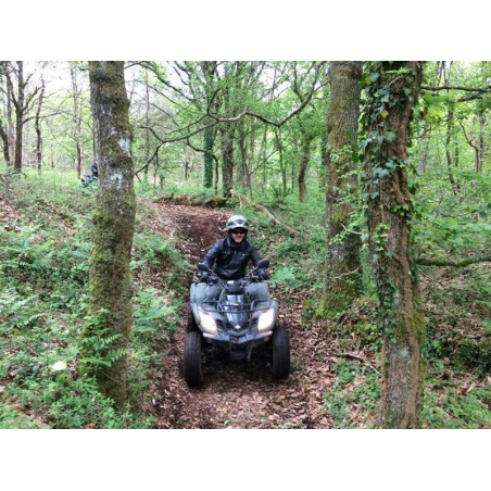 ©SSP Locations - Randonnée en quad en forêt