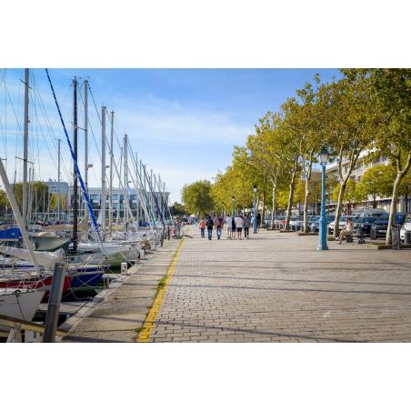 ©Emmanuel Lemée-LBST  - Le quai des Indes en centre-ville de Lorient