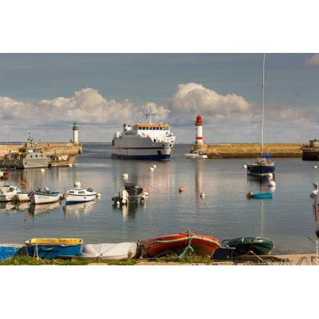 ©Simon Bourcier - Morbihan Tourisme - Le port de Groix