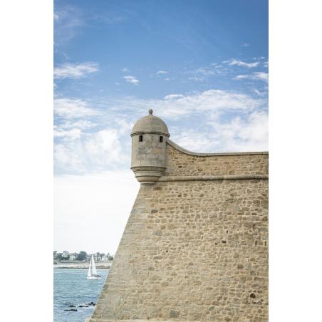 ©Xavier Dubois-LBST - Port-Louis, les remparts