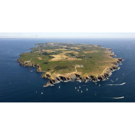 ©Y.ZEDDA - LBST - Vue aérienne de l'île de Groix