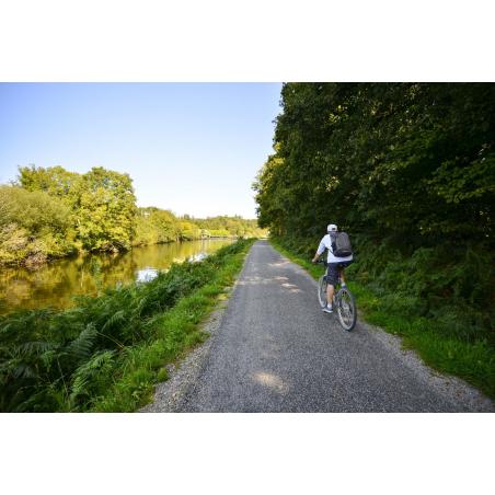 ©Emmanuel LEMEE-LBST- A vélo le long du Blavet