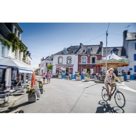 ©Xavier Dubois-LBST - Le bourg de l'Île de Groix