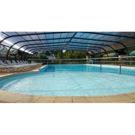 ©Camping entre terre et mer Pont Scorff - La piscine couverte