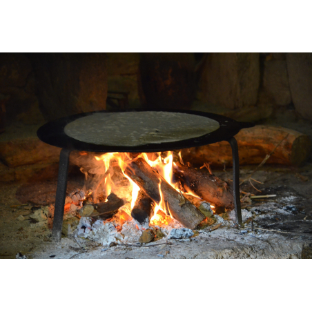©C.MADELAINE - LBST - Des crêpes faites à l'ancienne