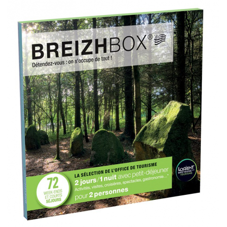 ©Breizhbox - Le coffret-cadeau vert V11