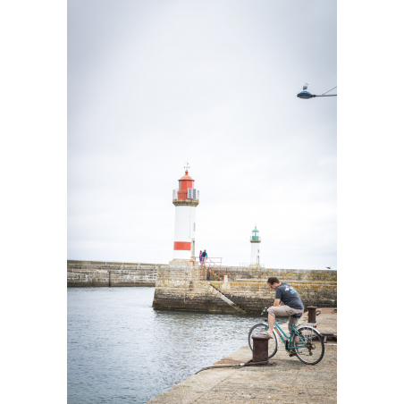 ©Xavier Dubois-LBST - Pause sur le port de l'île de Groix