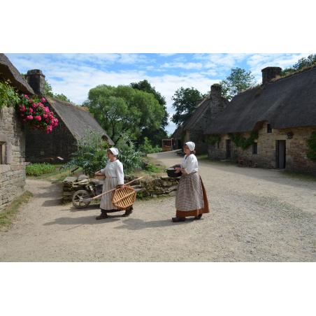©Céline Madelaine-LBST - Le village de Poul Fetan à Quistinic
