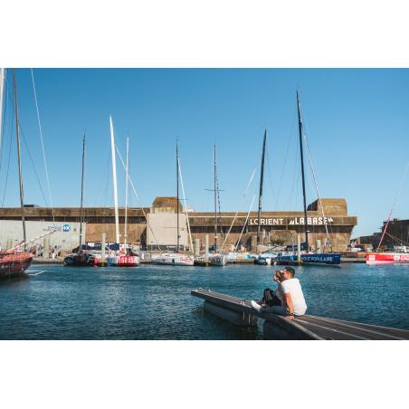©Tony Esnault-LBST - Sur les pontons, devant le K3 à Lorient, La Base