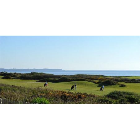 ©Golf Blue Green de Ploemeur Ocean - Parcours avec vue sur l'Océan Atlantique et l'île de Groix