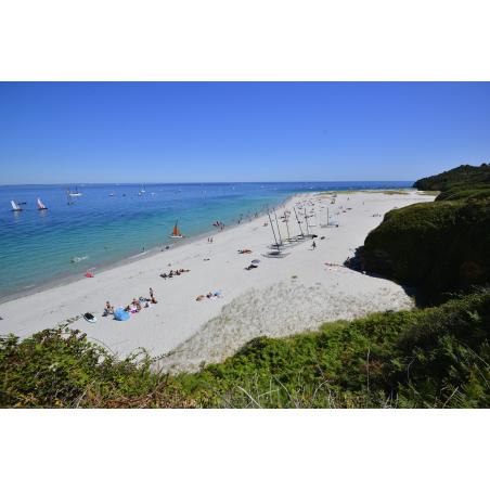 ©Emmanuel Lemée - LBST - La plage convexe des Grands Sables à Groix