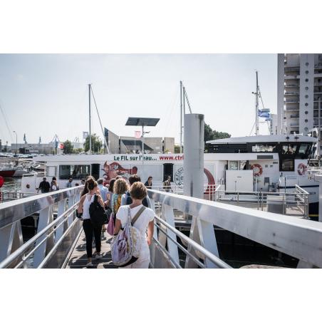 ©Xavier Dubois - LBST - L'embarcadère du batobus en centre-ville de Lorient