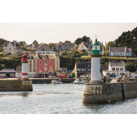 ©Simon Bourcier-Morbihan Tourisme - L'entrée du port de Groix