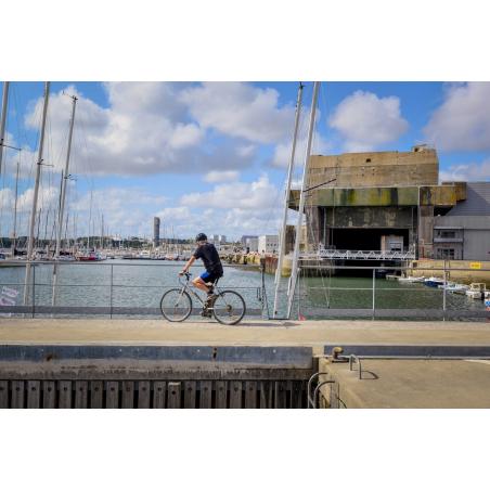 ©Emmanuel LEMEE-LBST - Lorient La Base, les pontons du Pôle Course au large et le bloc K3