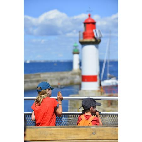 ©Emmanuel LEMEE-LBST- L'entrée du port de l'île de Groix
