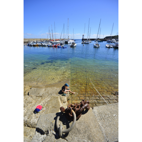 ©E. LEMEE-LBST- Les eaux cristallines de Port-Tudy