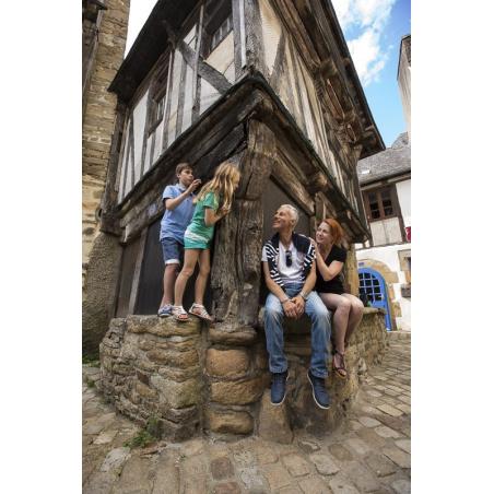 ©Ville de Quimperlé - QTO - Visite de la vieille ville en famille