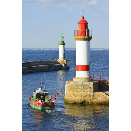 ©Emmanuel Lemée-LBST  - Le port de l'île de Groix