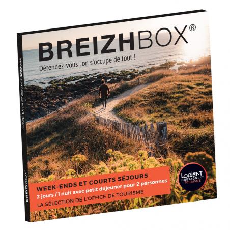 ©Breizhbox - Le coffret-cadeau orange