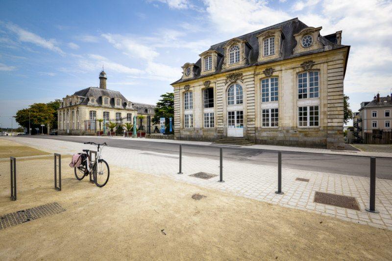 ©Emmanuel LEMEE-LBST - Le quartier du Péristyle et l'Hôtel Gabriel à Lorient