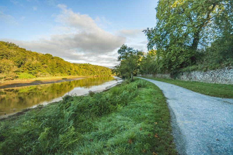 ©Thibault PORIEL-LBST - Le chemin de halage le long du Blavet à Hennebont