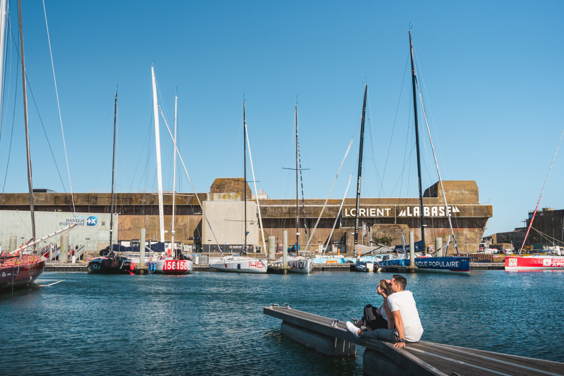 ©Tony Esnault - En amoureux sur les pontons de Lorient La Base