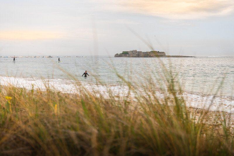 ©Tony ESNAULT-LBST - La plage de Fort-Bloqué à Lorient Bretagne Sud