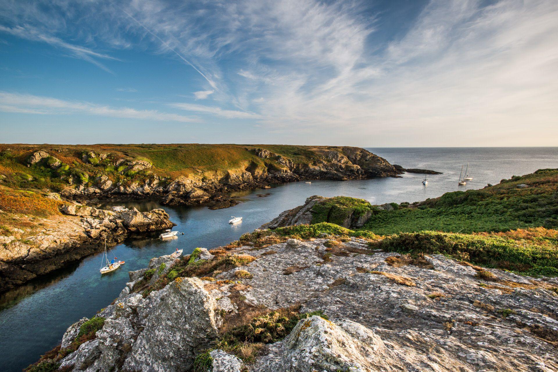 ©Xavier Dubois-LBST - Port Saint Nicolas sur l'île de Groix