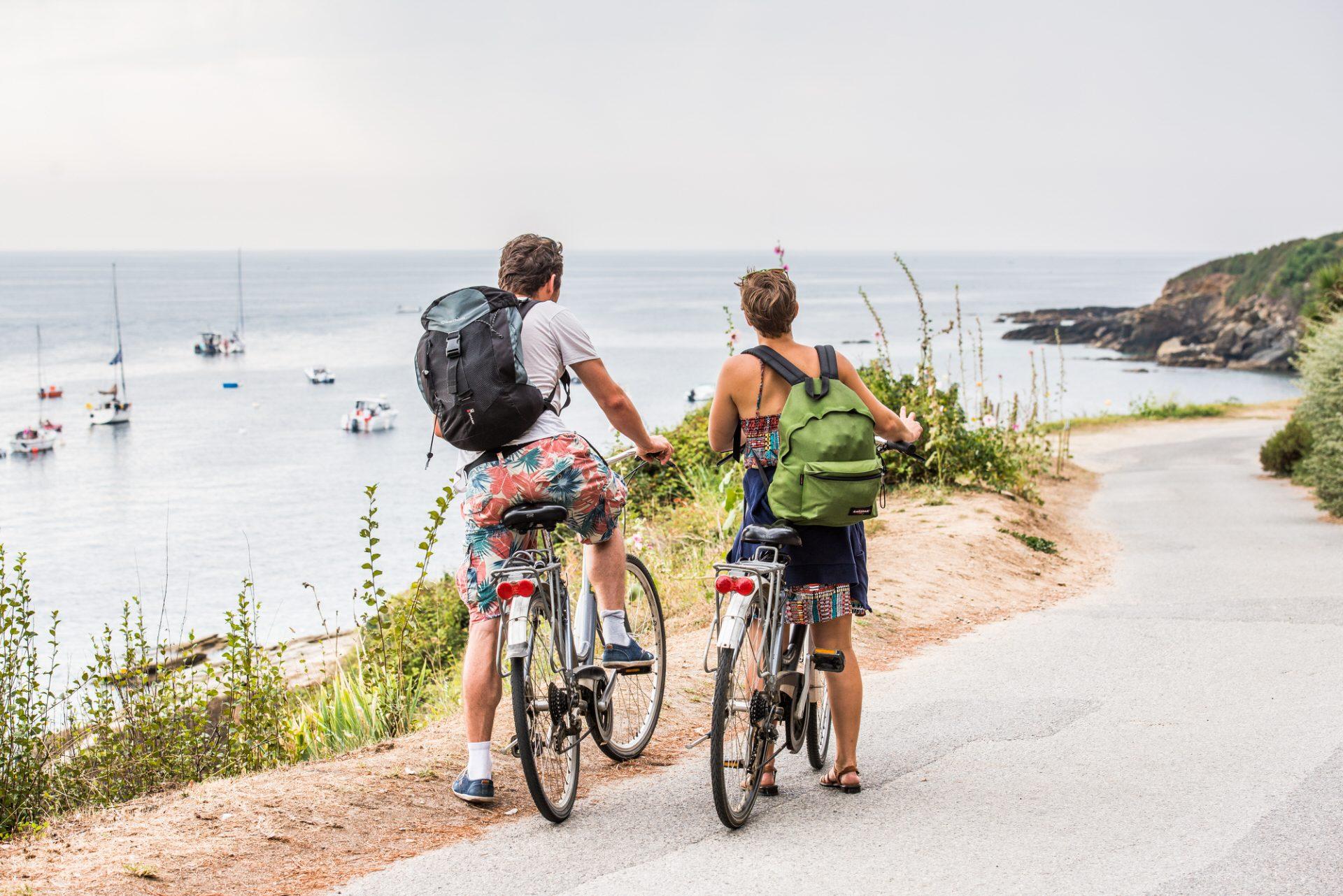 ©Xavier Dubois-LBST - Balade en vélo sur l'île de Groix