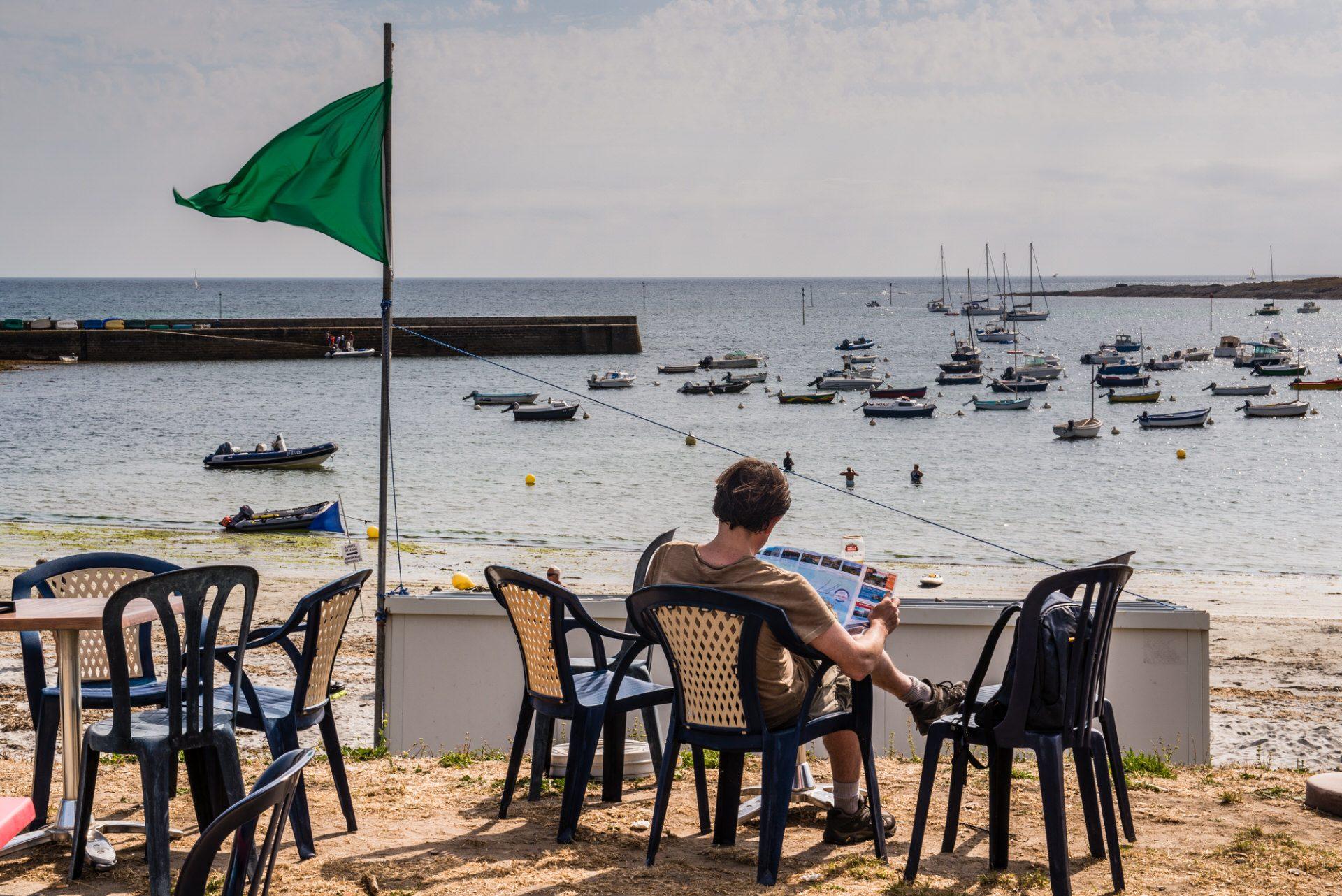 ©Thomas Deregnieaux-LBST - Pause à Locmaria sur l'île de Groix